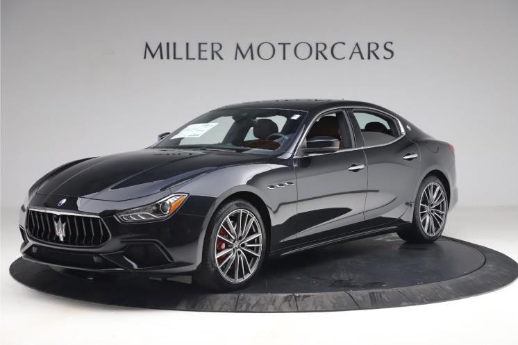 New 2021 Maserati Ghibli S Q4 for sale $89,775 at Rolls-Royce Motor Cars Greenwich in Greenwich CT 06830 1