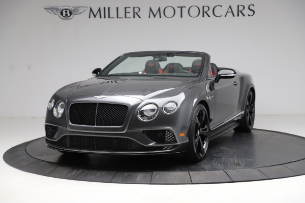 Used 2017 Bentley Continental GT V8 S for sale $179,900 at Rolls-Royce Motor Cars Greenwich in Greenwich CT 06830 1