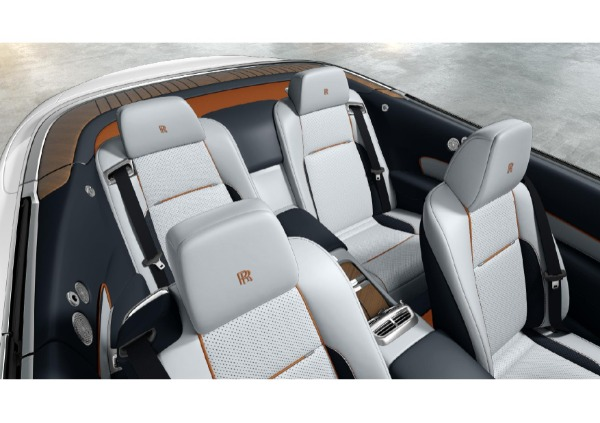 New 2021 Rolls-Royce Dawn for sale Call for price at Rolls-Royce Motor Cars Greenwich in Greenwich CT 06830 4