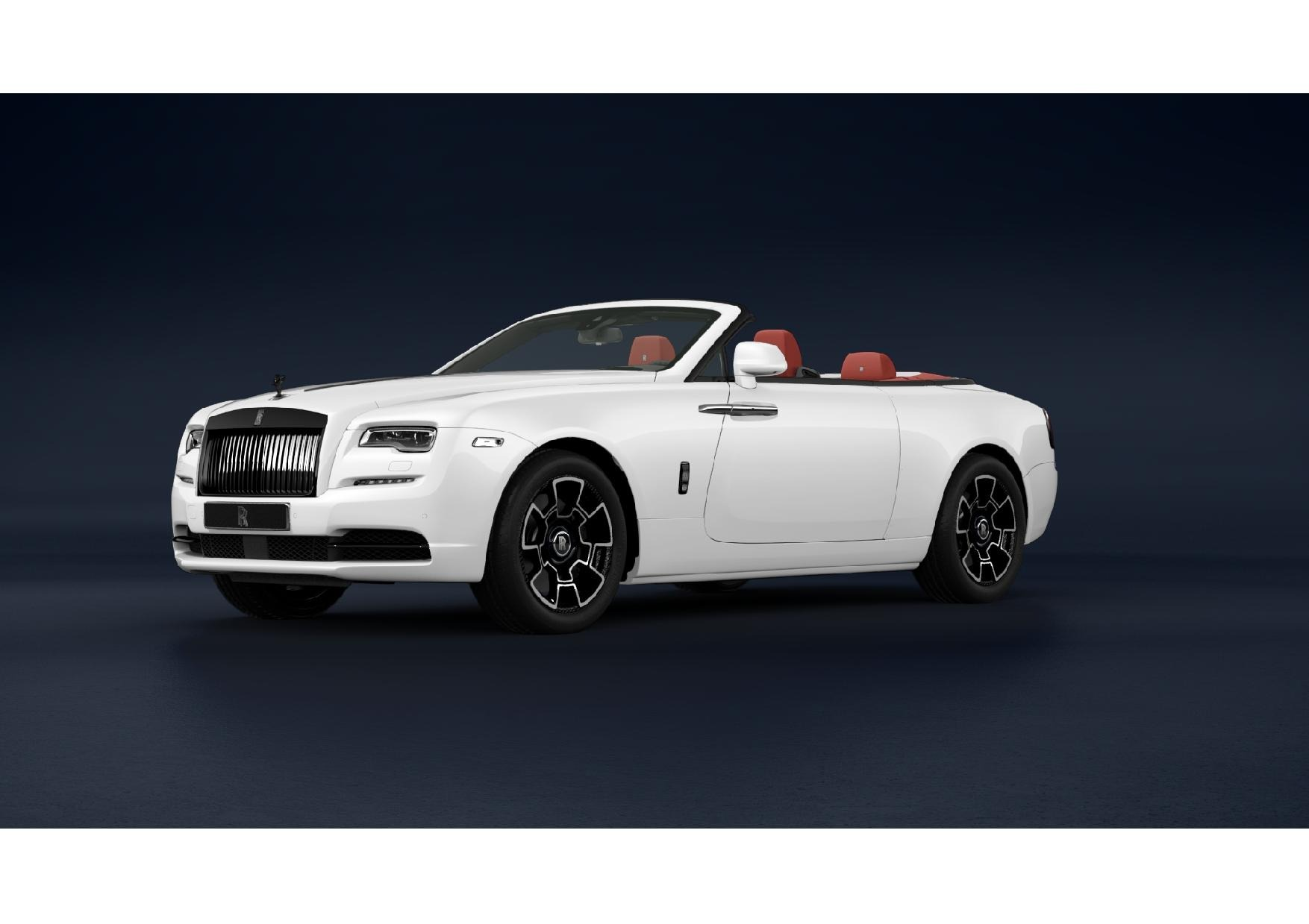 New 2021 Rolls-Royce Dawn Black Badge for sale Call for price at Rolls-Royce Motor Cars Greenwich in Greenwich CT 06830 1