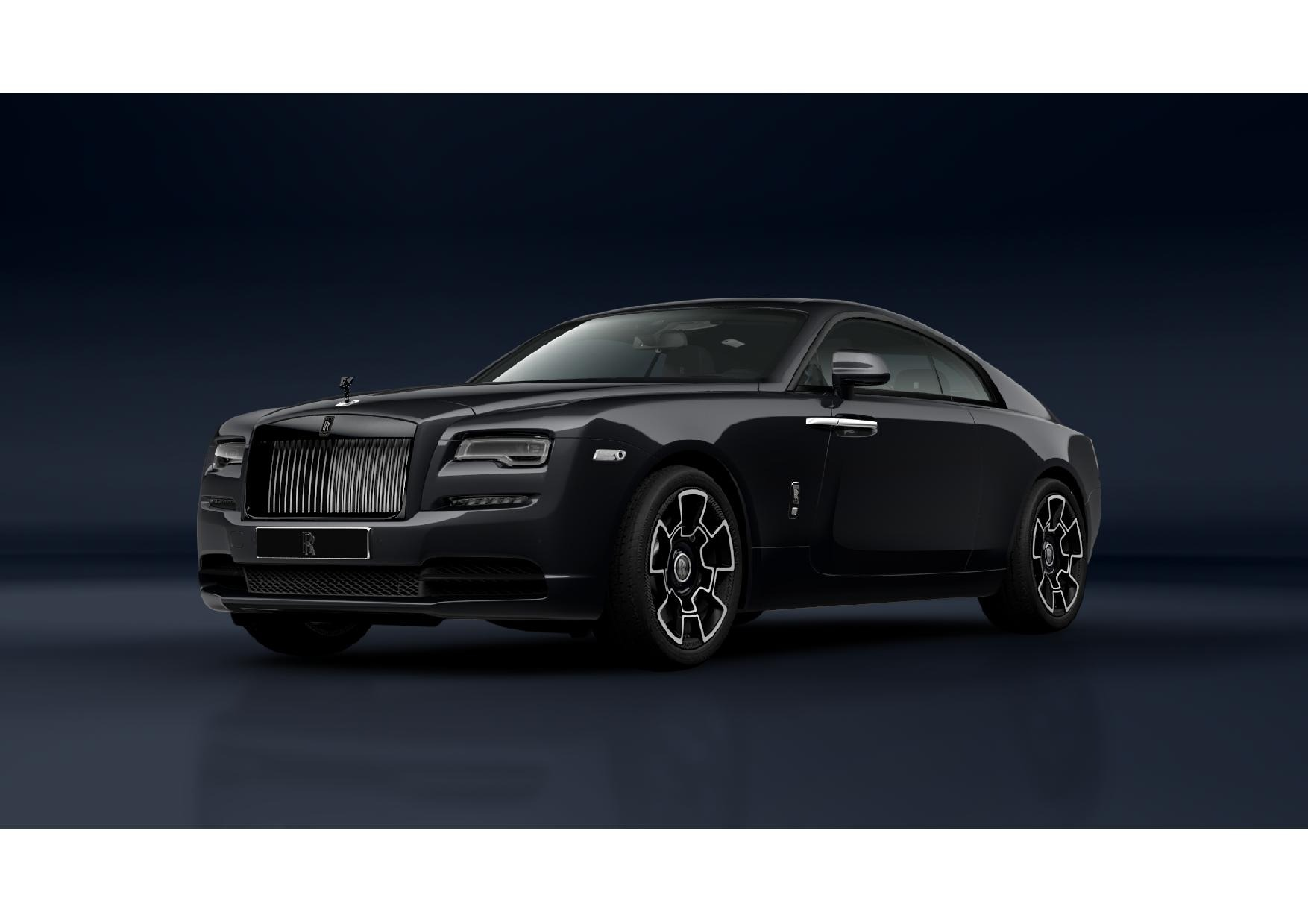 New 2021 Rolls-Royce Wraith Black Badge for sale Call for price at Rolls-Royce Motor Cars Greenwich in Greenwich CT 06830 1