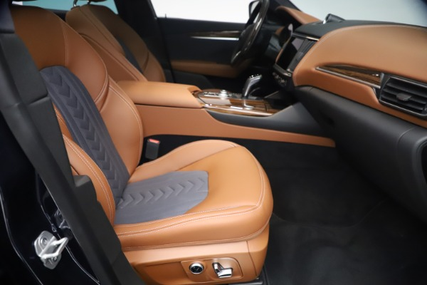 New 2021 Maserati Levante Q4 GranLusso for sale $93,385 at Rolls-Royce Motor Cars Greenwich in Greenwich CT 06830 22