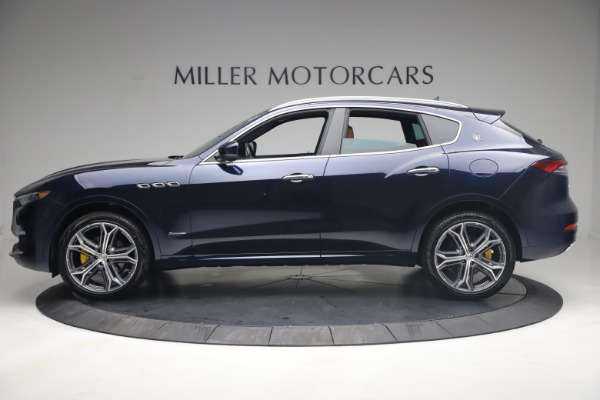 New 2021 Maserati Levante Q4 GranLusso for sale $93,385 at Rolls-Royce Motor Cars Greenwich in Greenwich CT 06830 3