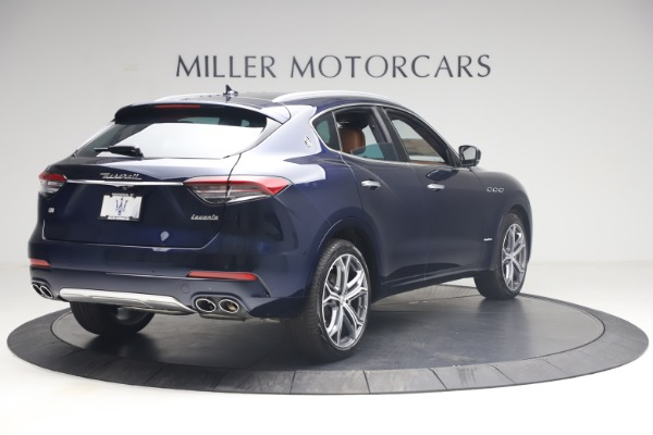 New 2021 Maserati Levante Q4 GranLusso for sale $93,385 at Rolls-Royce Motor Cars Greenwich in Greenwich CT 06830 7