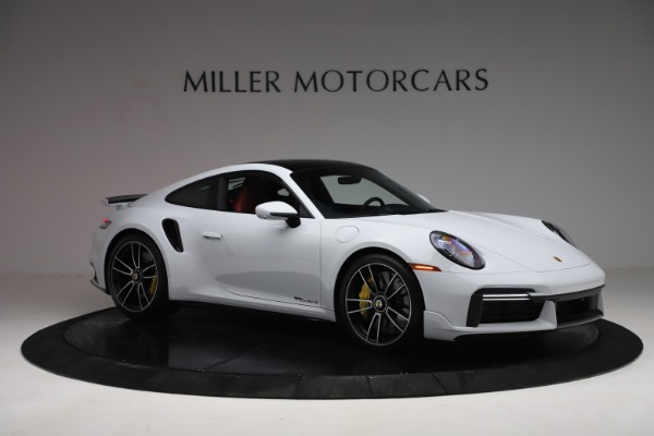 Used 2021 Porsche 911 Turbo S for sale Sold at Rolls-Royce Motor Cars Greenwich in Greenwich CT 06830 10