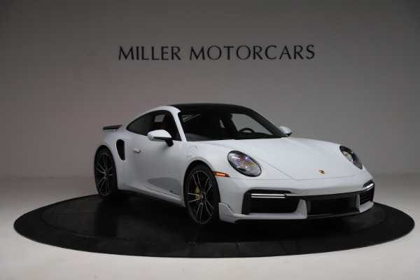 Used 2021 Porsche 911 Turbo S for sale Sold at Rolls-Royce Motor Cars Greenwich in Greenwich CT 06830 11