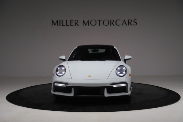 Used 2021 Porsche 911 Turbo S for sale Sold at Rolls-Royce Motor Cars Greenwich in Greenwich CT 06830 12