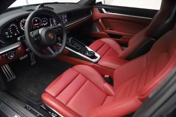 Used 2021 Porsche 911 Turbo S for sale Sold at Rolls-Royce Motor Cars Greenwich in Greenwich CT 06830 13