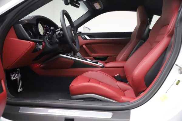 Used 2021 Porsche 911 Turbo S for sale Sold at Rolls-Royce Motor Cars Greenwich in Greenwich CT 06830 14