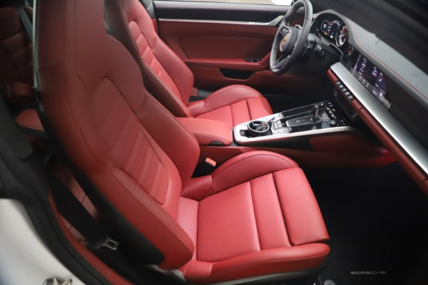 Used 2021 Porsche 911 Turbo S for sale Sold at Rolls-Royce Motor Cars Greenwich in Greenwich CT 06830 17