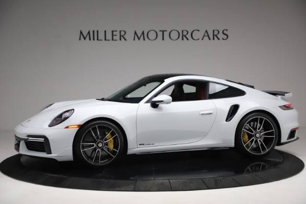Used 2021 Porsche 911 Turbo S for sale Sold at Rolls-Royce Motor Cars Greenwich in Greenwich CT 06830 2