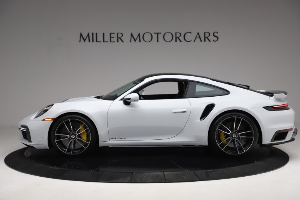 Used 2021 Porsche 911 Turbo S for sale Sold at Rolls-Royce Motor Cars Greenwich in Greenwich CT 06830 3