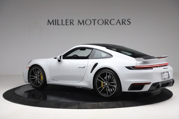 Used 2021 Porsche 911 Turbo S for sale Sold at Rolls-Royce Motor Cars Greenwich in Greenwich CT 06830 4