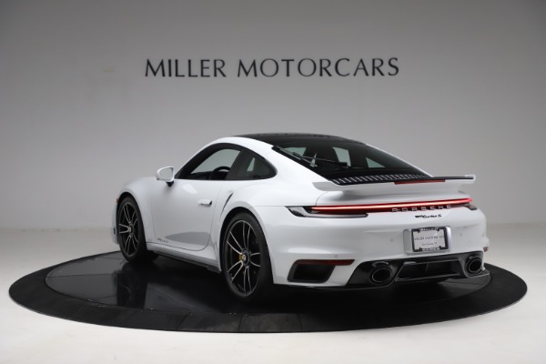Used 2021 Porsche 911 Turbo S for sale Sold at Rolls-Royce Motor Cars Greenwich in Greenwich CT 06830 5