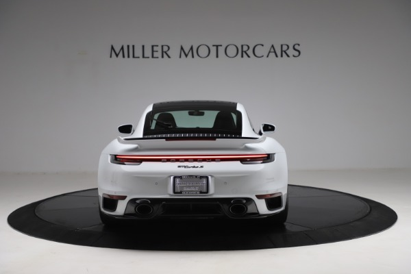 Used 2021 Porsche 911 Turbo S for sale Sold at Rolls-Royce Motor Cars Greenwich in Greenwich CT 06830 6
