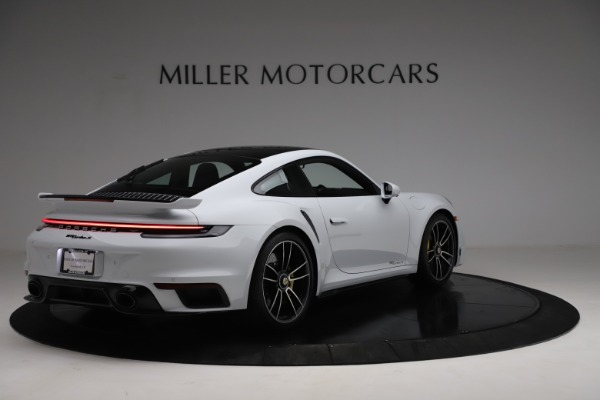 Used 2021 Porsche 911 Turbo S for sale Sold at Rolls-Royce Motor Cars Greenwich in Greenwich CT 06830 7