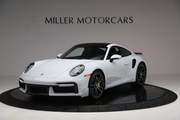 Used 2021 Porsche 911 Turbo S for sale Sold at Rolls-Royce Motor Cars Greenwich in Greenwich CT 06830 1