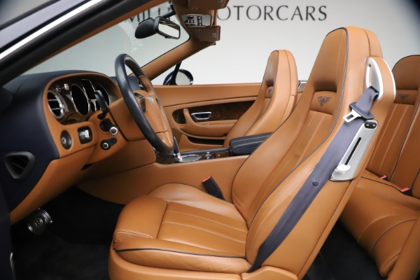 Used 2011 Bentley Continental GTC GT for sale Sold at Rolls-Royce Motor Cars Greenwich in Greenwich CT 06830 26