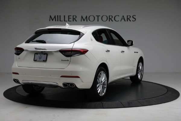 New 2021 Maserati Levante Q4 GranLusso for sale $89,735 at Rolls-Royce Motor Cars Greenwich in Greenwich CT 06830 8