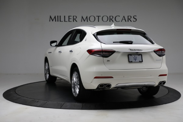 New 2021 Maserati Levante Q4 GranLusso for sale $89,735 at Rolls-Royce Motor Cars Greenwich in Greenwich CT 06830 6