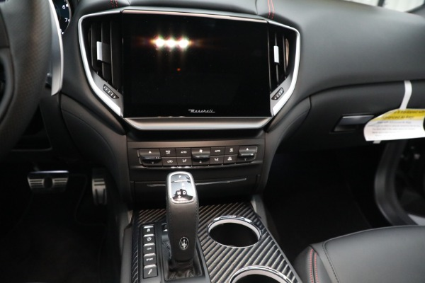 New 2021 Maserati Ghibli S Q4 GranSport for sale $100,635 at Rolls-Royce Motor Cars Greenwich in Greenwich CT 06830 19