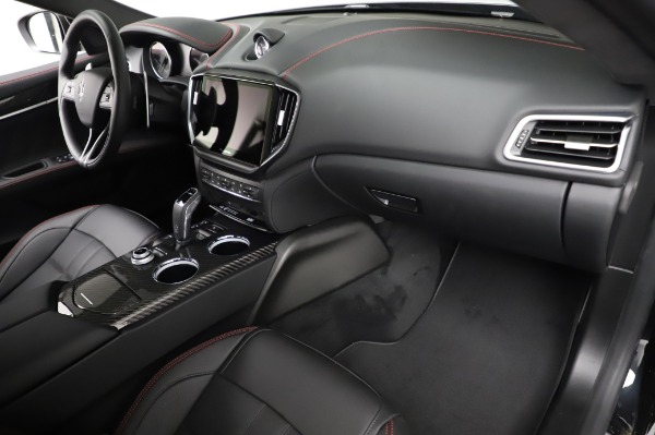 New 2021 Maserati Ghibli S Q4 GranSport for sale $100,635 at Rolls-Royce Motor Cars Greenwich in Greenwich CT 06830 22