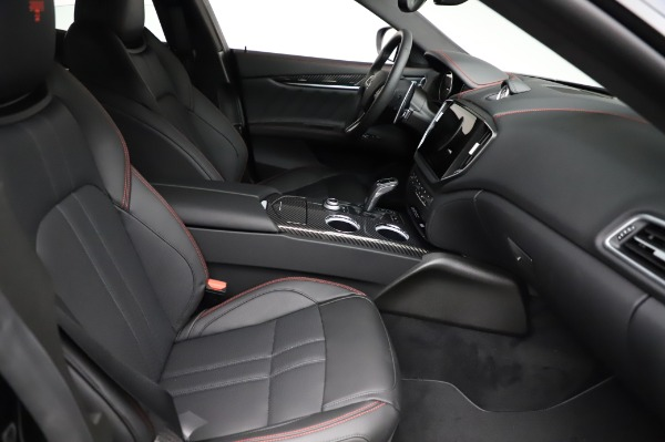 New 2021 Maserati Ghibli S Q4 GranSport for sale $100,635 at Rolls-Royce Motor Cars Greenwich in Greenwich CT 06830 23