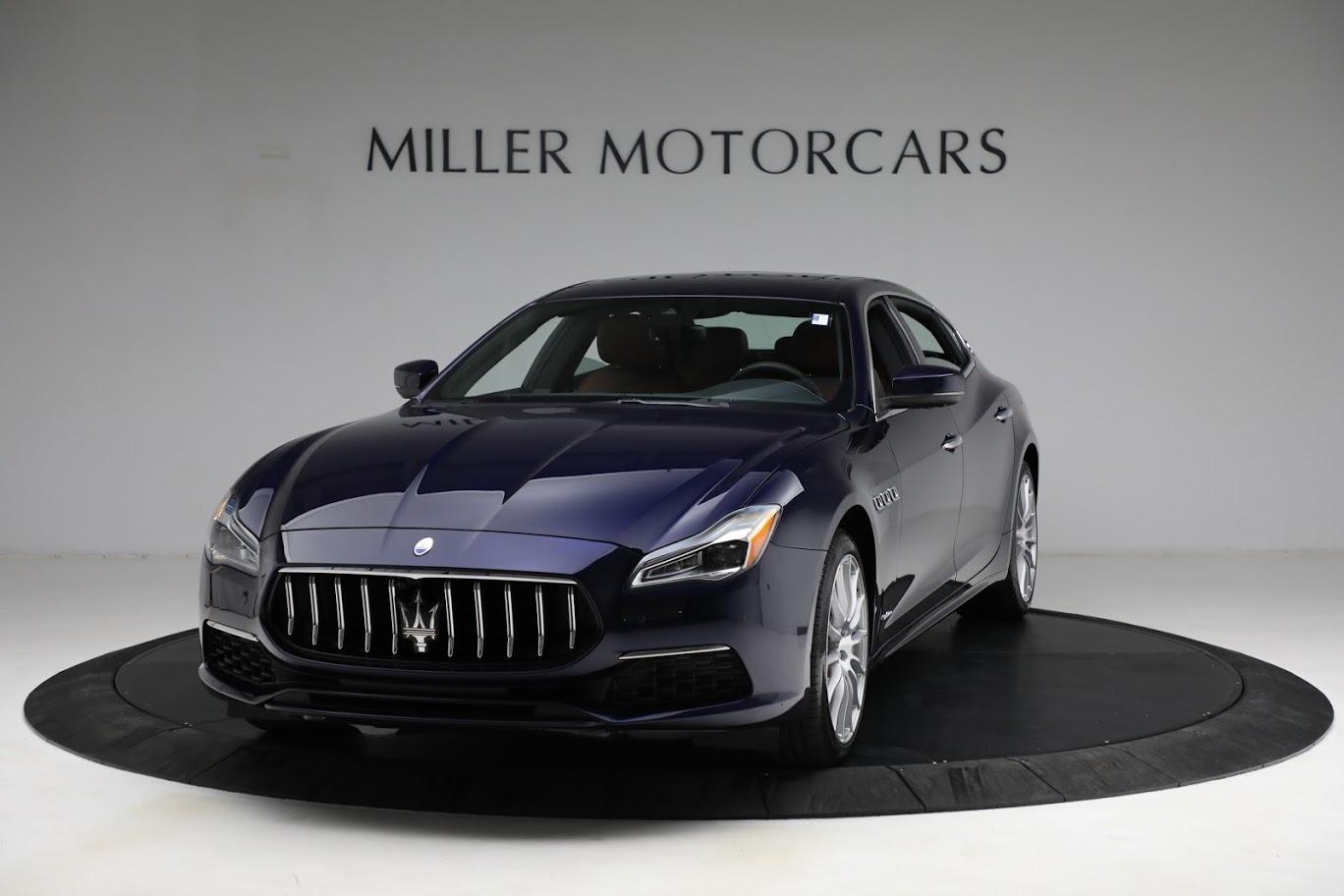 New 2021 Maserati Quattroporte S Q4 GranLusso for sale $125,149 at Rolls-Royce Motor Cars Greenwich in Greenwich CT 06830 1