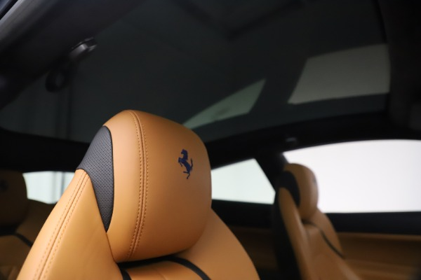 Used 2018 Ferrari GTC4Lusso for sale Sold at Rolls-Royce Motor Cars Greenwich in Greenwich CT 06830 28