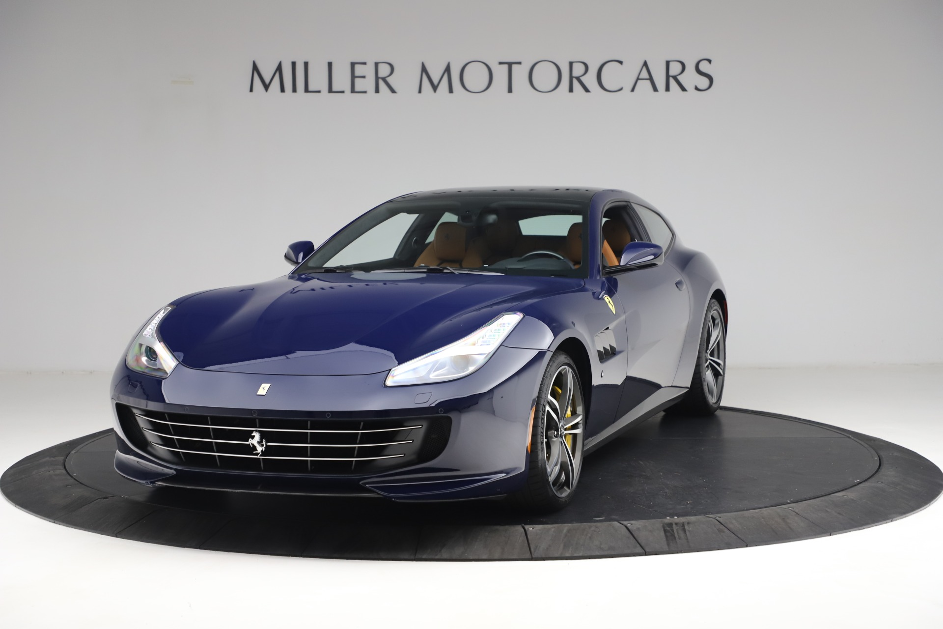 Used 2018 Ferrari GTC4Lusso for sale Sold at Rolls-Royce Motor Cars Greenwich in Greenwich CT 06830 1