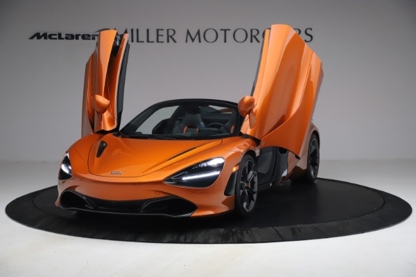 Used 2020 McLaren 720S Spider for sale $335,900 at Rolls-Royce Motor Cars Greenwich in Greenwich CT 06830 13