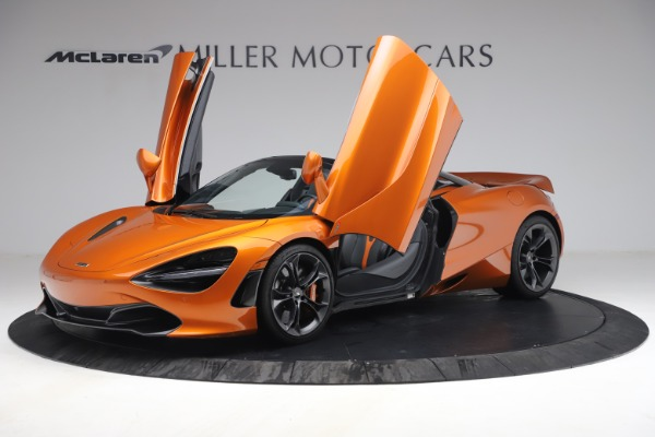 Used 2020 McLaren 720S Spider for sale $335,900 at Rolls-Royce Motor Cars Greenwich in Greenwich CT 06830 14