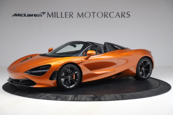 Used 2020 McLaren 720S Spider for sale $335,900 at Rolls-Royce Motor Cars Greenwich in Greenwich CT 06830 2