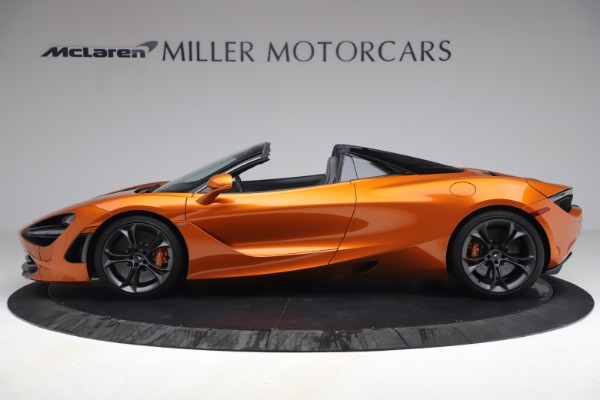 Used 2020 McLaren 720S Spider for sale $335,900 at Rolls-Royce Motor Cars Greenwich in Greenwich CT 06830 3