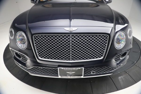 Used 2018 Bentley Bentayga W12 Signature for sale $149,900 at Rolls-Royce Motor Cars Greenwich in Greenwich CT 06830 13