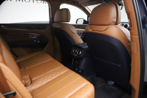 Used 2018 Bentley Bentayga W12 Signature for sale $149,900 at Rolls-Royce Motor Cars Greenwich in Greenwich CT 06830 28