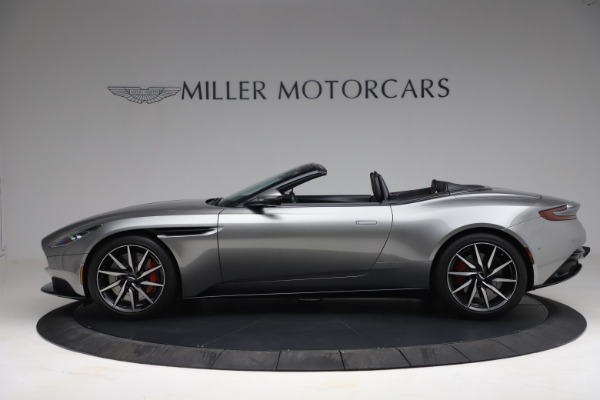 Used 2019 Aston Martin DB11 Volante for sale $209,900 at Rolls-Royce Motor Cars Greenwich in Greenwich CT 06830 2