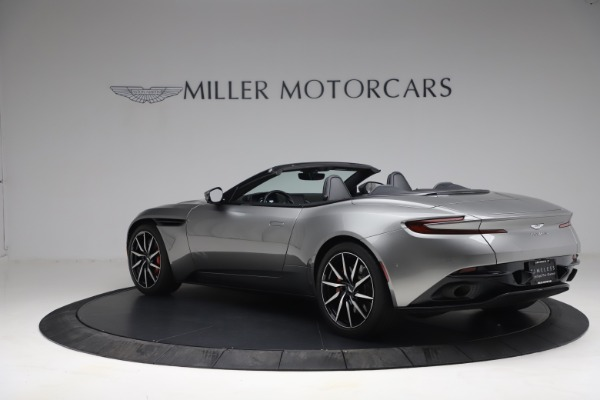 Used 2019 Aston Martin DB11 Volante for sale $209,900 at Rolls-Royce Motor Cars Greenwich in Greenwich CT 06830 3