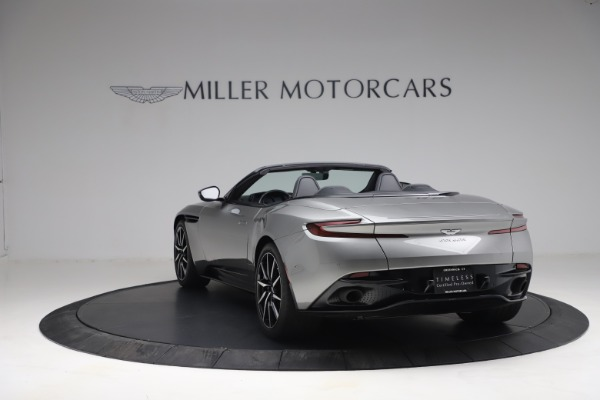 Used 2019 Aston Martin DB11 Volante for sale $209,900 at Rolls-Royce Motor Cars Greenwich in Greenwich CT 06830 4