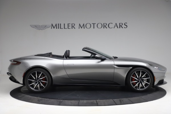 Used 2019 Aston Martin DB11 Volante for sale $209,900 at Rolls-Royce Motor Cars Greenwich in Greenwich CT 06830 8