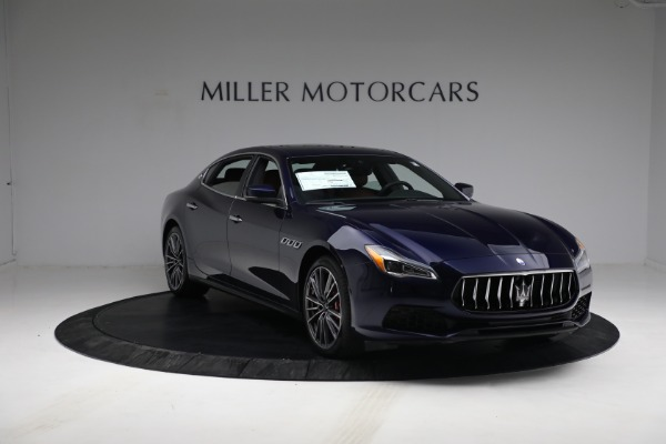 New 2021 Maserati Quattroporte S Q4 for sale Sold at Rolls-Royce Motor Cars Greenwich in Greenwich CT 06830 12