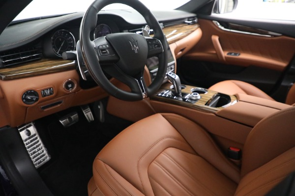 New 2021 Maserati Quattroporte S Q4 for sale Sold at Rolls-Royce Motor Cars Greenwich in Greenwich CT 06830 14