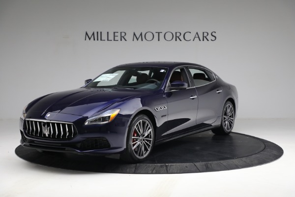 New 2021 Maserati Quattroporte S Q4 for sale Sold at Rolls-Royce Motor Cars Greenwich in Greenwich CT 06830 2