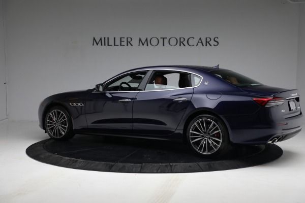 New 2021 Maserati Quattroporte S Q4 for sale Sold at Rolls-Royce Motor Cars Greenwich in Greenwich CT 06830 4