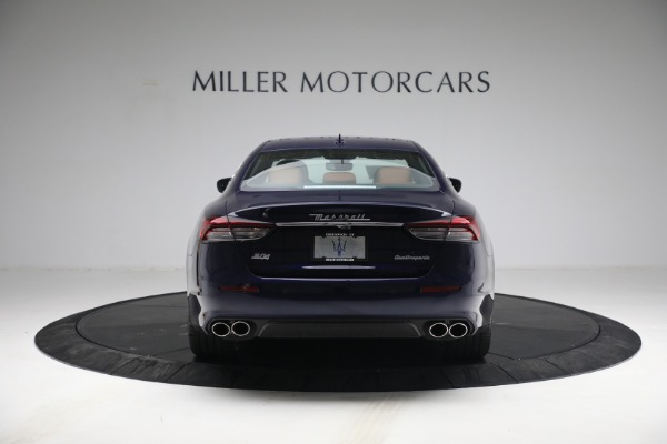 New 2021 Maserati Quattroporte S Q4 for sale Sold at Rolls-Royce Motor Cars Greenwich in Greenwich CT 06830 7