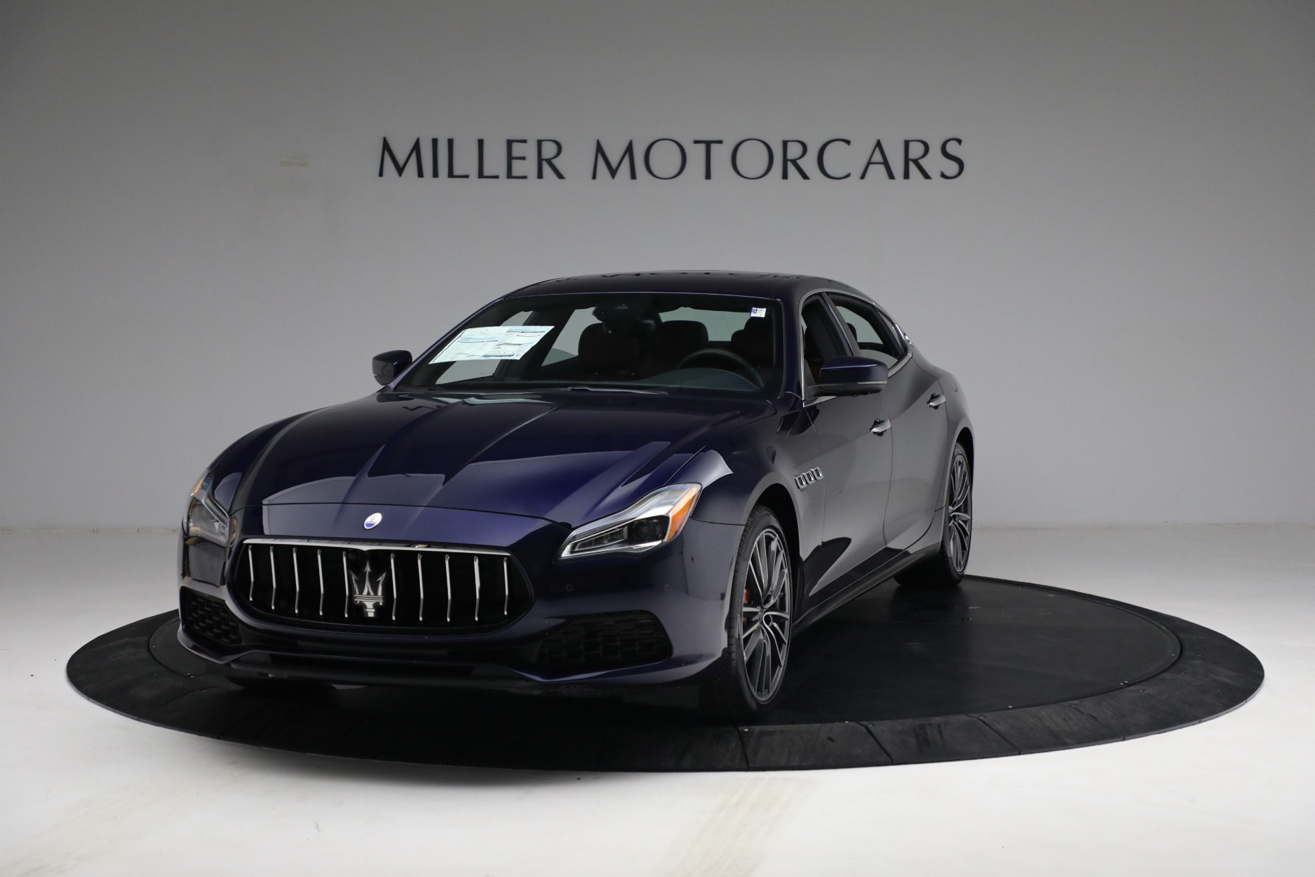New 2021 Maserati Quattroporte S Q4 for sale Sold at Rolls-Royce Motor Cars Greenwich in Greenwich CT 06830 1