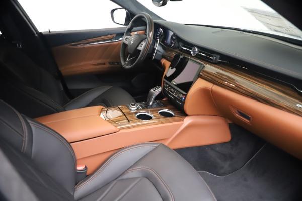 New 2021 Maserati Quattroporte S Q4 GranLusso for sale $129,135 at Rolls-Royce Motor Cars Greenwich in Greenwich CT 06830 18