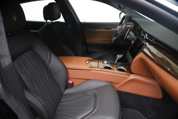 New 2021 Maserati Quattroporte S Q4 GranLusso for sale $129,135 at Rolls-Royce Motor Cars Greenwich in Greenwich CT 06830 19