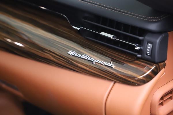 New 2021 Maserati Quattroporte S Q4 GranLusso for sale $129,135 at Rolls-Royce Motor Cars Greenwich in Greenwich CT 06830 21