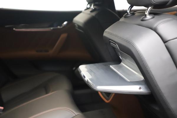New 2021 Maserati Quattroporte S Q4 GranLusso for sale $129,135 at Rolls-Royce Motor Cars Greenwich in Greenwich CT 06830 26